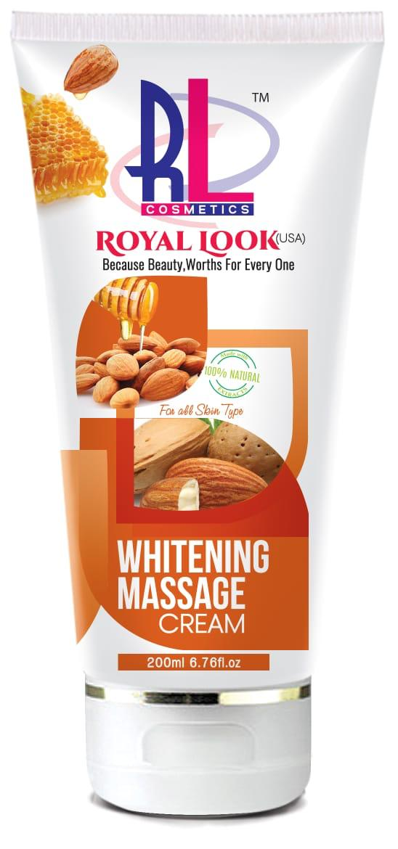 Royal Look (USA) Whitening Massage Cream 200ml