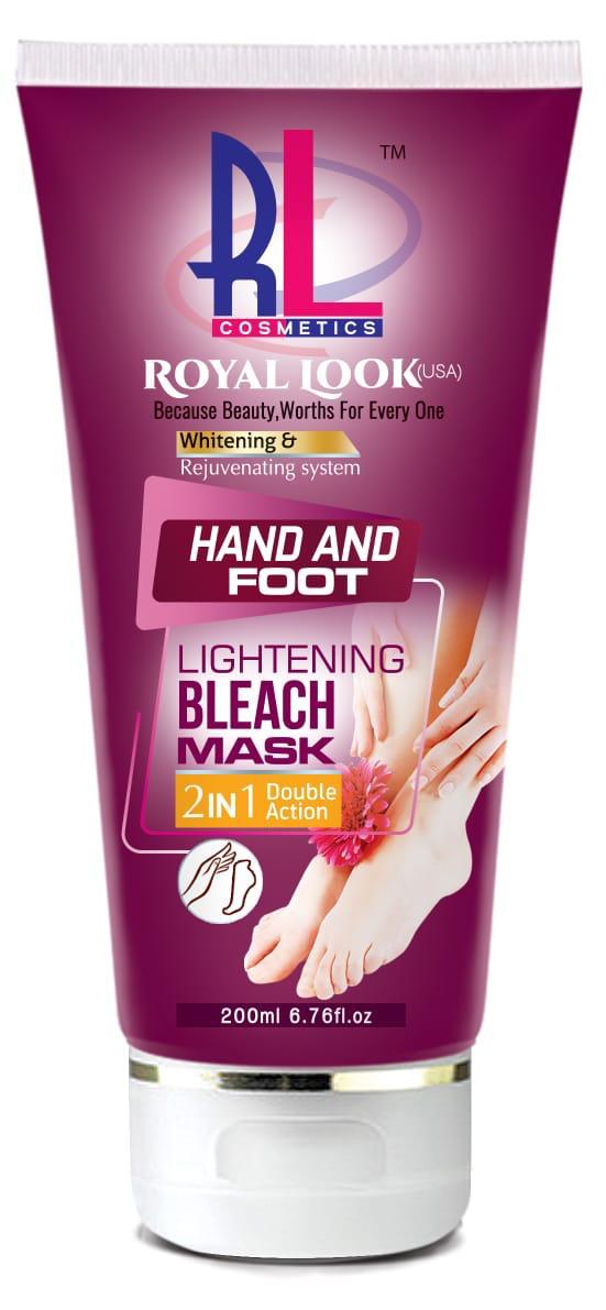 Royal Look (USA) Whitening Hand & Foot Bleach Mask 200ml