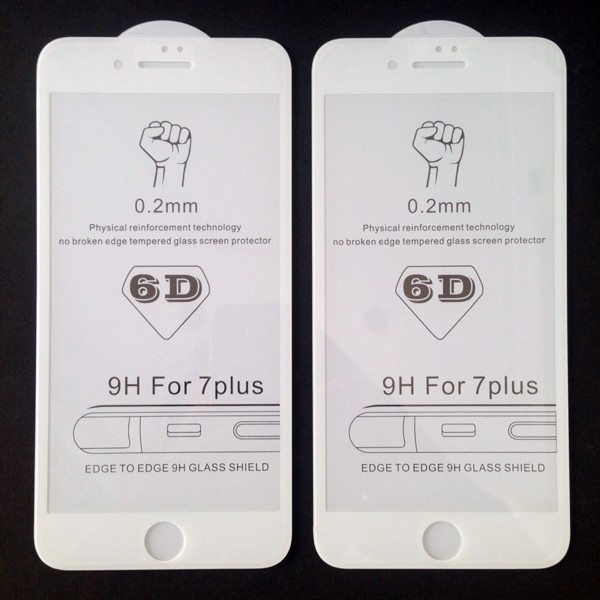 Apple iPhone7 6D Polished Glass Protector