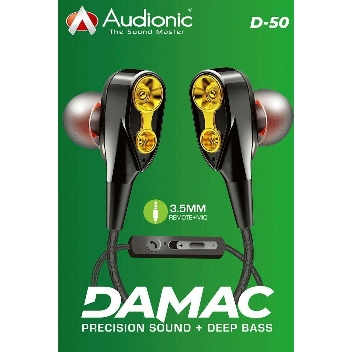 Audionic Damac D-50 Earphone