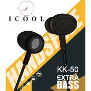 iCool KK-50 Extra Base Earphone