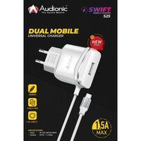 Audionic SWIFT S-25 Dual Mobile Universal Charger