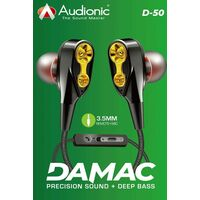 Audionic Damac D50 Earphones