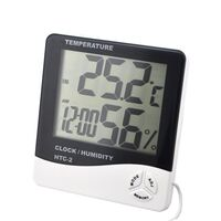 HTC 2 Temperature Clock Humidity Indicator