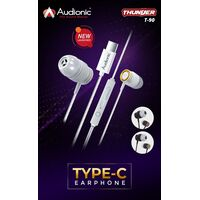 Audionic THUNDER Type C Earphones - T90