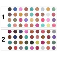 Rivaj Uk 36 in 1 Shimmery Diamond Eye Shadow Kit - RG Color Combinations