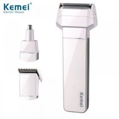 3 In 1 Trimmer, Shaver And Nose Trimmer - KM3004