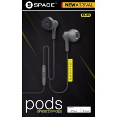 Space Pods Supreme Earphones - PD540