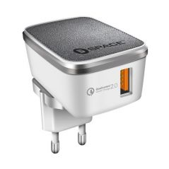 Space Quick Charge 2.0 with USB Cable - WC121