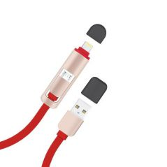 Dany Dual Lightning & Micro USB Cable - DU20