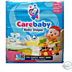 Carebaby Jumbo Pack Size 4 Large
