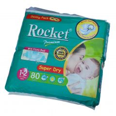 Rocket Premium Jumbo Pack Size 1-2 Small