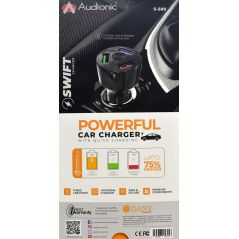 Audionic S500 Super Charging Car Charger