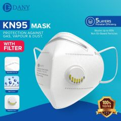 KN95 Face Mask with Filter