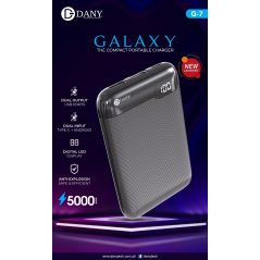 Galaxy G-07 (5000mAh) Powerbank