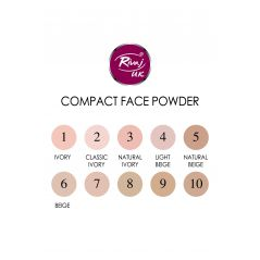 Rivaj Compact Face Powder (Beige Color)