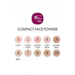 Rivaj Compact Face Powder (Natural Beige Color)