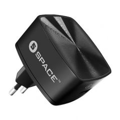 Space Quick Charge 3.0 Wall Charger (w Type-C Cable)