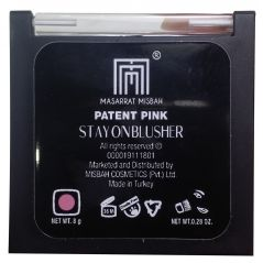 Masarrat Misbah Stay On Blusher Patent Pink