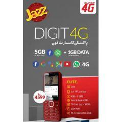 Jazz Digit 4G Elite Keypad Smartphone