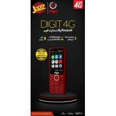Jazz Digit 4G Elite Keypad Smartphone