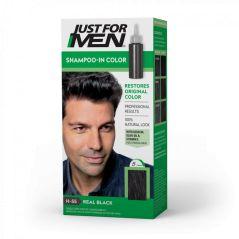 JUST FOR MEN REAL BLACK HAIR COLOR H-55
