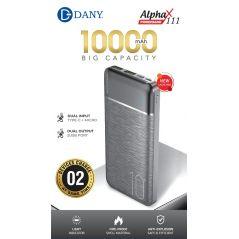Dany Alpha X111 (10,000 mAh) Power Bank