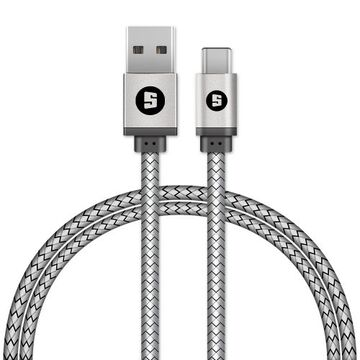 Space Type-C USB Cable with Braided USB Cable - CE451