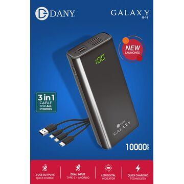 Dany GALAXY 10000mAh Power Bank G-16