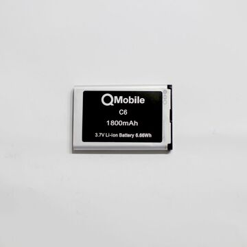 QMobile C6 Mobile Battery 1800mAh