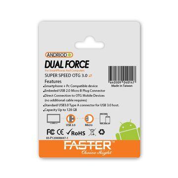 Faster 64GB OTG 3.0 USB Flash Drive