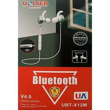 United Universal Bluetooth Headset - UBT-X12m