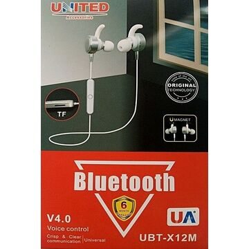 United Universal Bluetooth Headset - UBT-X12m