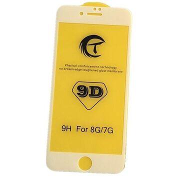 Apple iPhone 7 Plus 9D Edge to Edge Glass Protector - White