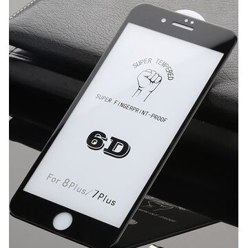 Apple iPhone 8 6D (Edge to Edge) Glass Protector - Black