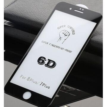 Apple iPhone 8 Plus 6D Edge to Edge Glass Protector - Black