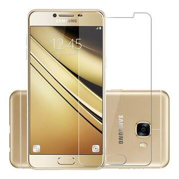 Samsung Galacy C7 2.5D Polished Glass Protector
