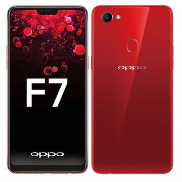 OPPO F7 2.5D Polished Glass Protector