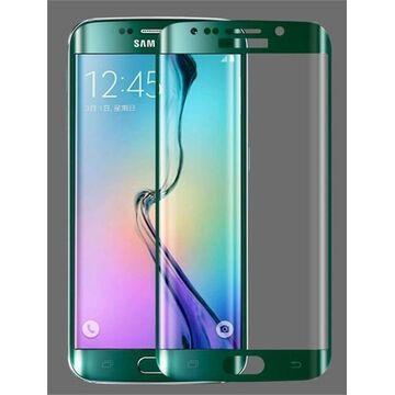 Samsung Galaxy S7 Edge Glass Protector - Green