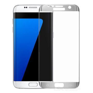 Samsung Galaxy S7 Edge Glass Protector - Silver