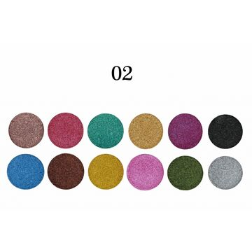 Rivaj 12 In 1 Velvet Eyeshadow Kit
