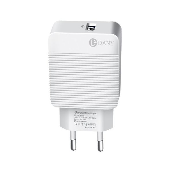 Dany Qualcomm 3.0 Quick Charger - H90