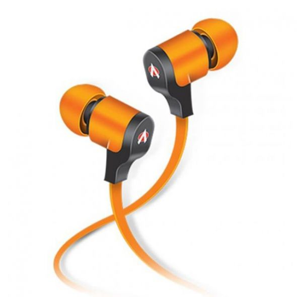 MN-250 Music Note Earphones - Orange