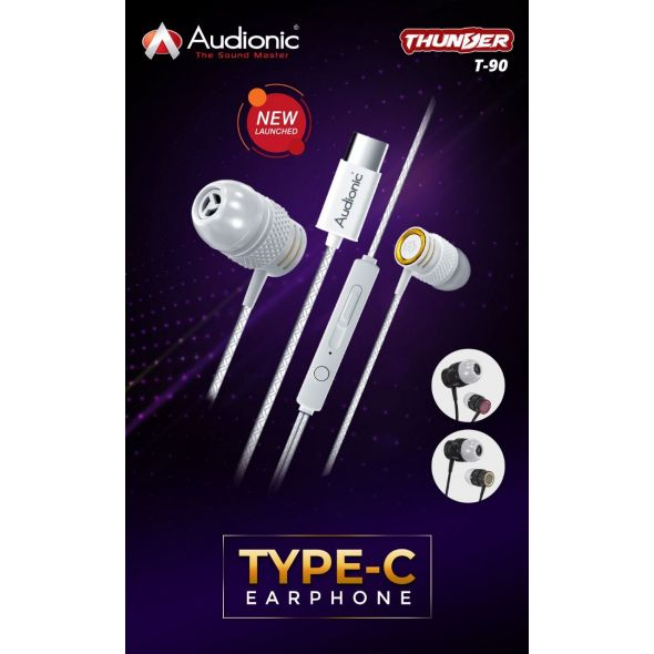Audionic Type C Earphones
