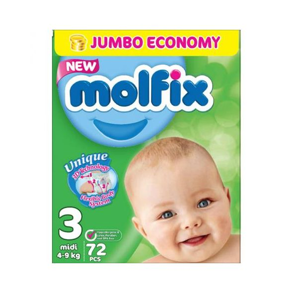 Molfix Jumbo Pack Size 3 Medium