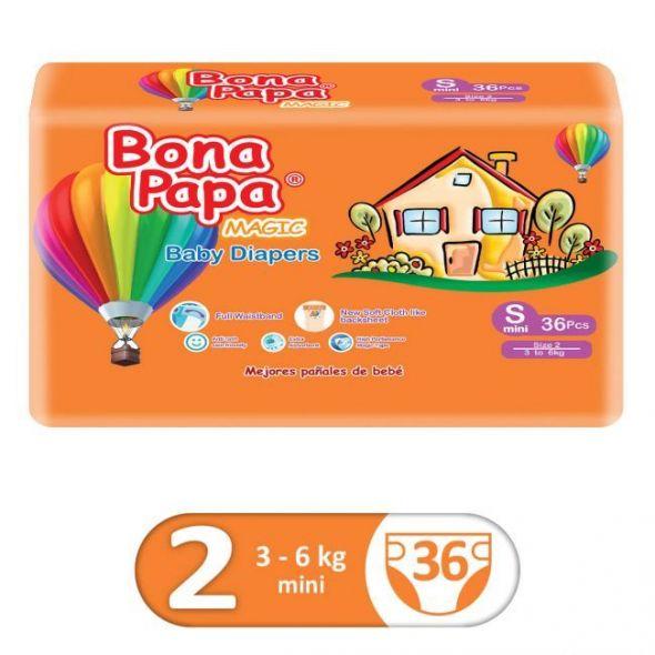 BonaPapa Economy Pack Size 2 Small