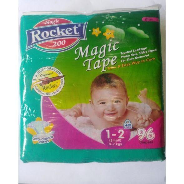 Rocket Magic Tape Jumbo Pack Size 1-2 Small