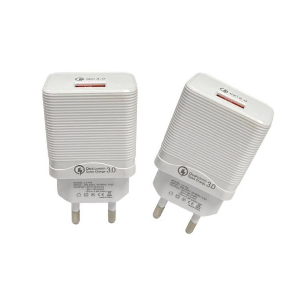 iCool WC-50 18W Qualcomm 3.0 Adopter with Cable