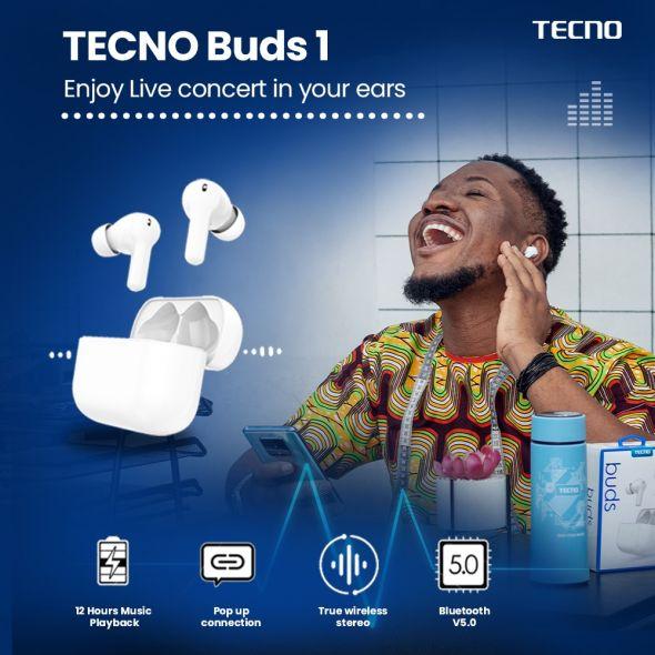 Original Tecno Buds 1 (BD01)