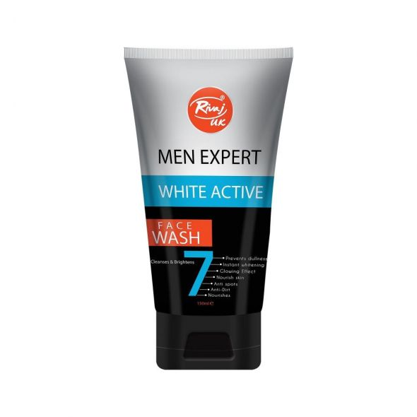Rivaj Uk Face Wash Men Expert Active White (150ml)